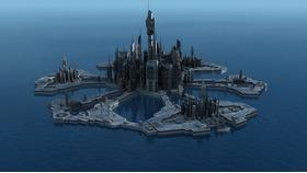亚特兰提斯之城模型